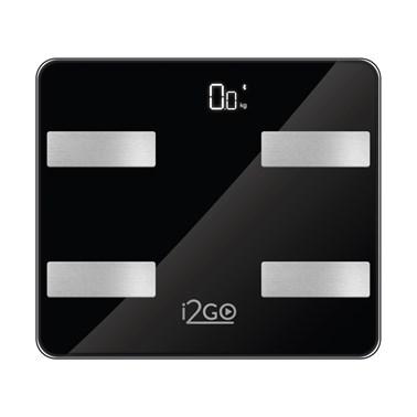 Balança Corporal Inteligente Bioimpedância Bluetooth Smart Scale Fit Preto I2GO - I2GO Home