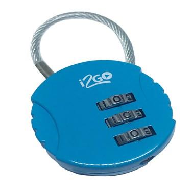 Cadeado com Segredo i2GO Azul - i2GO Basic
