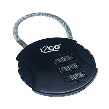 Cadeado com Segredo i2GO Preto - i2GO Basic