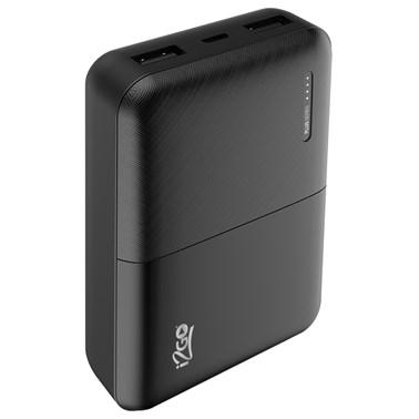 Carregador Portátil i2GO 10000mAh 2 Saídas USB Preto - i2GO Plus