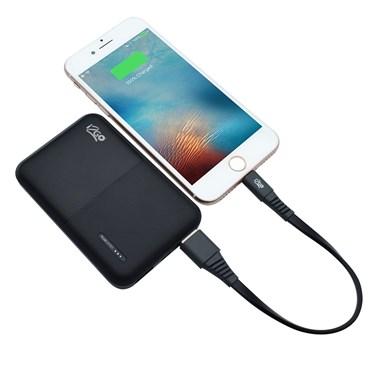 Carregador Portátil i2GO 5000mAh 2 Saídas USB Preto - i2GO Plus