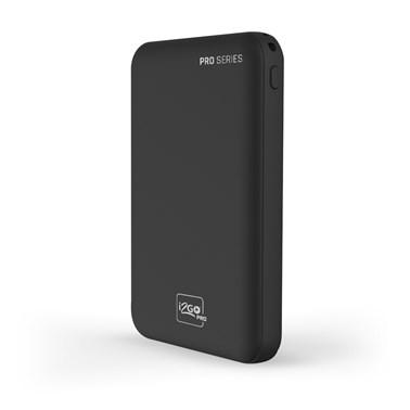 Carregador Portátil (Power Bank) i2GO Slim 5000mAh 2 Saídas USB + 1 Saída/Entrada USB-C Preto - i2GO PRO