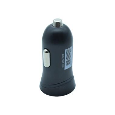 Carregador Veicular com 1 Saída USB i2GO Entrada 12-24V Saída 5V-1A Preto - i2GO Basic