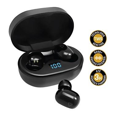 Fone de Ouvido Bluetooth Sem Fio TWS Air PRO Go i2GO com Estojo de Carregamento - i2GO PRO