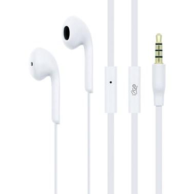 Fone de ouvido i2GO Active com microfone 1,2m 103db Branco - i2GO Basic