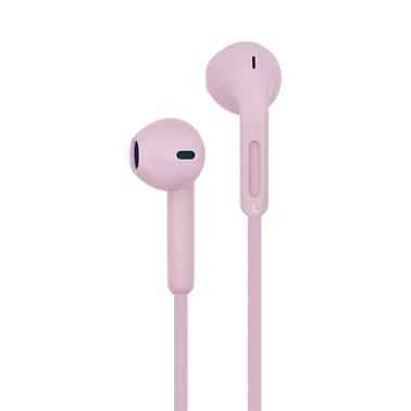 Fone de ouvido i2GO Active com microfone 1,2m 103db Rosa - i2GO Basic