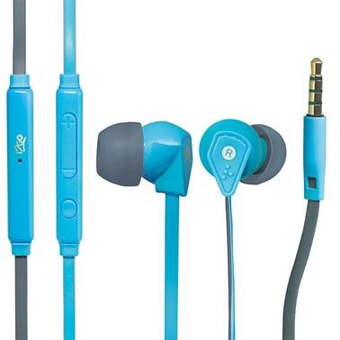 Fone de Ouvido i2GO Intra-Auricular com microfone 1,2m 103db Azul - i2GO PRO