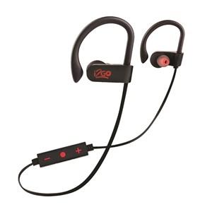 Produto Fone de ouvido i2GO PRO Sport Extreme Bluetooth com Microfone 30cm Preto com Vermelho - i2GO PRO