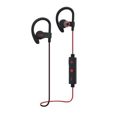 Fone de ouvido i2GO PRO Sport Extreme Bluetooth com Microfone 30cm Preto com Vermelho - i2GO PRO