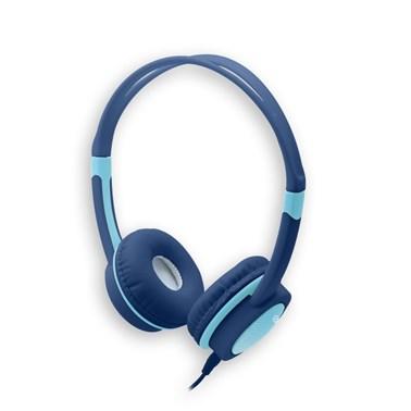 Headphone Kids i2GO 1,2m Azul com Limitador de Volume - i2GO Basic