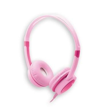 Headphone Kids i2GO 1,2m Rosa com Limitador de Volume - i2GO Basic