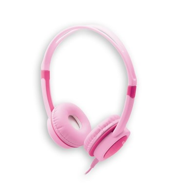 Headphone Kids i2GO 1,2m Rosa com Limitador de Volume - i2GO Basic