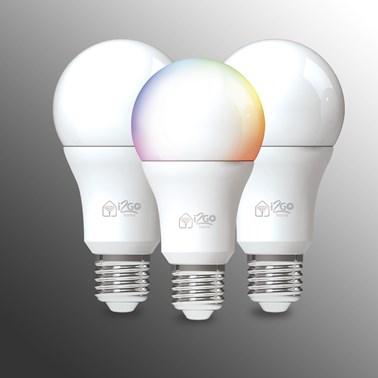 Kit 3 Lâmpadas Inteligentes i2GO Wi-FI 10W -  i2GO Home