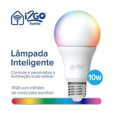 Kit 5 Lâmpadas Inteligentes i2GO Wi-FI 10W -  i2GO Home