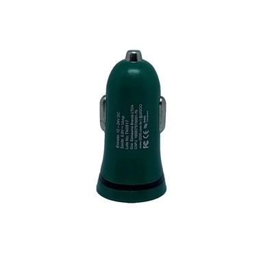 Kit Carregador Veicular 1A + Cabo Micro USB 2,4A i2GO Verde - i2GO Basic