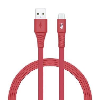 Kit Carregador Veicular 1A + Cabo Micro USB 2,4A i2GO Vermelho - i2GO Basic