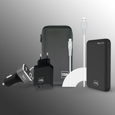 Kit Carregamento Power Delivery para iPhone (Cabo Lightning /iPhone de 3 metros) - i2GO PRO