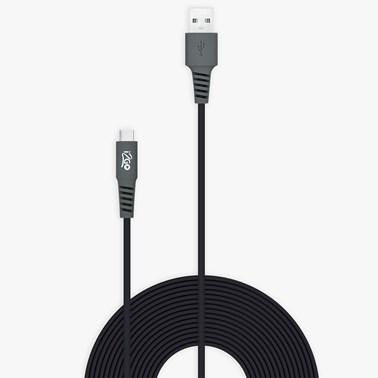 Kit Completo Carregamento para Smartphone Android (Cabo USB-C de 3 metros) - i2GO PRO