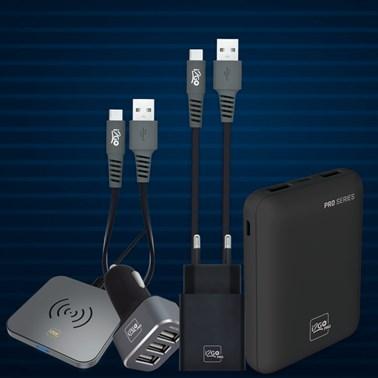 Kit Completo Carregamento para Smartphone Android (Cabo USB-C) - i2GO
