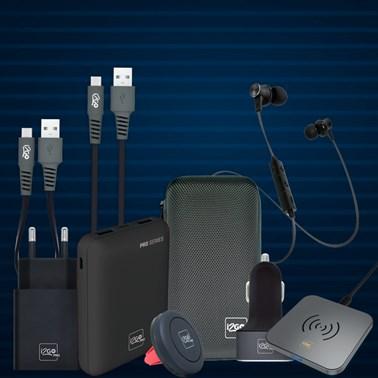 Kit Completo de Acessórios para Android (Cabo Micro USB)  - i2GO