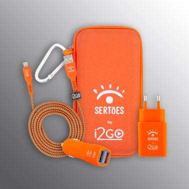 Kit Completo para iPhone Edição Limitada i2GO by Sertões