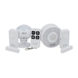 Produto Kit de Segurança Inteligente i2GO com 1 Sensor de Movimento + 2 Sensores de Porta + Central de Alarme - i2GO Home