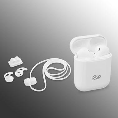 Kit Fone de Ouvido Bluetooth Sem Fio TWS Air Sound + Acessórios -  i2GO Plus