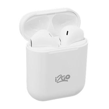 Kit Fone de Ouvido Bluetooth Sem Fio TWS Air Sound + Case à Prova DÁgua -  i2GO Plus