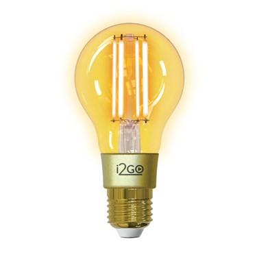 Lâmpada Inteligente Smart Lamp i2GO Vintage Wi-Fi LED Filamento i2GO - i2GO Home