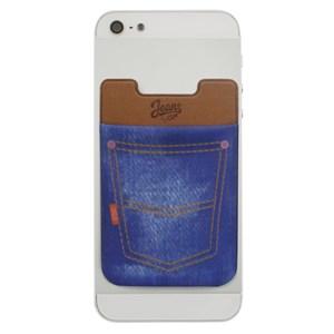Produto Porta cartão para Smartphone Smart Pocket i2GO Jeans - Jeans Fashion Series