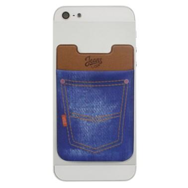 Porta cartão para Smartphone Smart Pocket i2GO Jeans - Jeans Fashion Series
