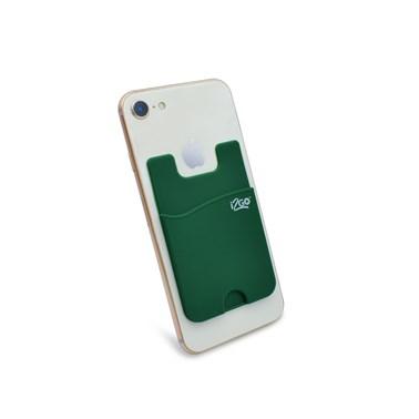Porta Cartão para Smartphone Smart Pocket i2GO Silicone Verde - i2GO Basic