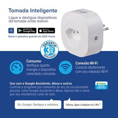 Tomada Inteligente i2GO Wi-Fi 10A - i2GO Home